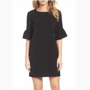 Theory Akaia bell sleeved dress